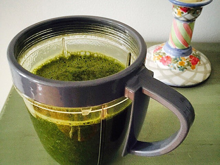 Green Berry Antioxidant Smoothie