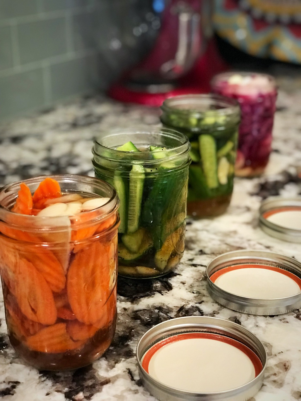 Quick Pickling Fit Foodie Style