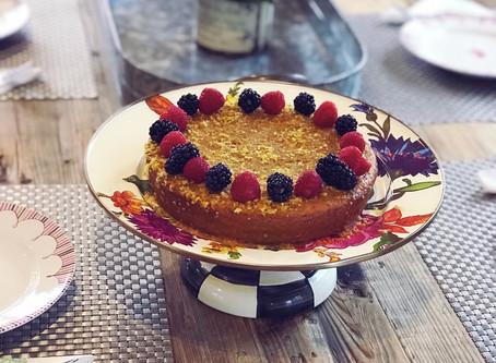 Meyer Lemon Miracle Cake