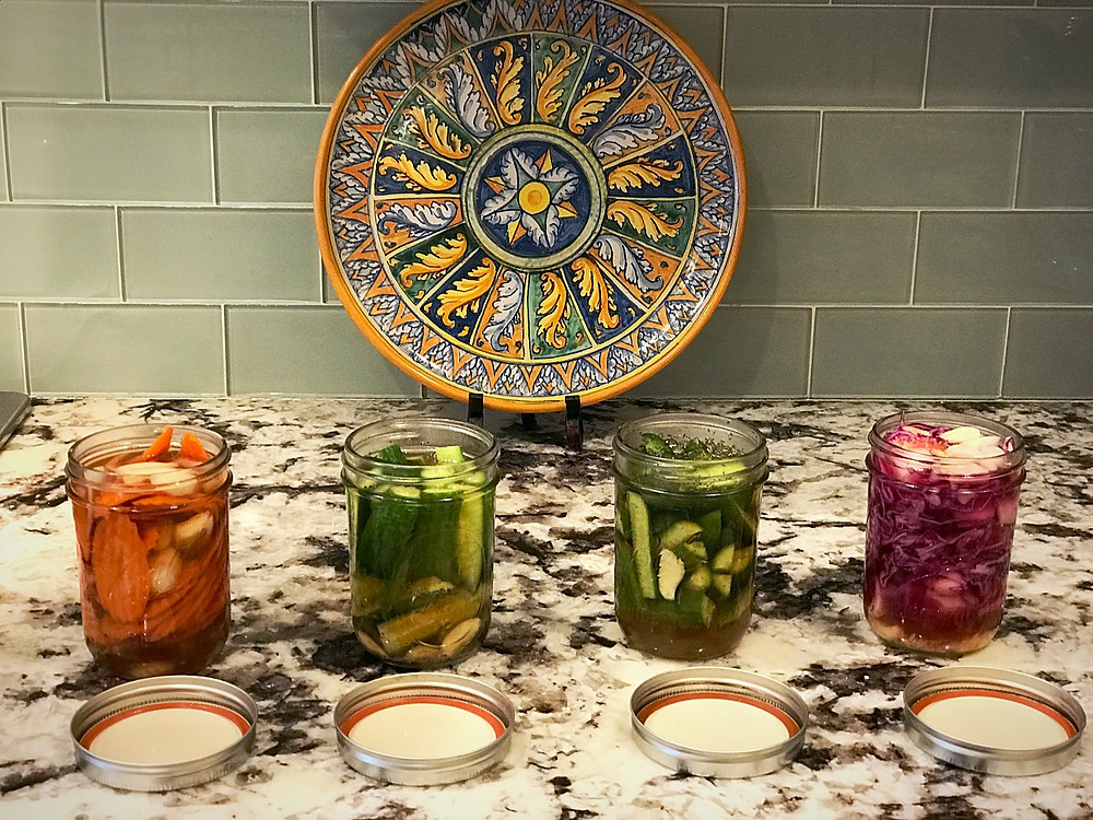 quick pickling gets you to eat more veggies!