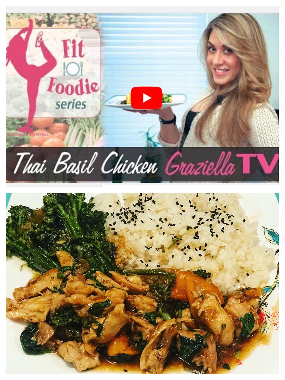 Thai Basil Chicken (gluten-free)