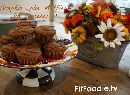 Pumpkin Spice Muffins OR Cupcakes =)