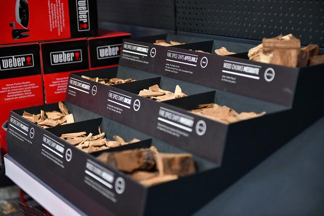 Aufnahme aus dem Grillforum VALENTIN: Verschiedene Holzpellets für Pellet Grills