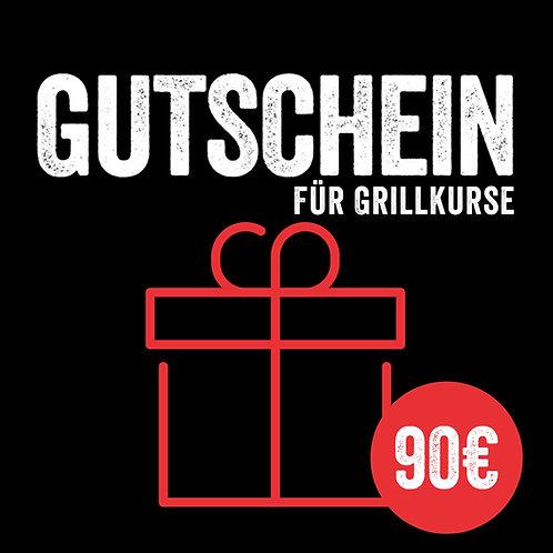 Flexibler Kursgutschein 90€ (mit Sofort-Versand per E-Mail)