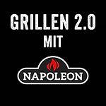 Grillkurs-Logo Grillen 2.0 mit Napoleon