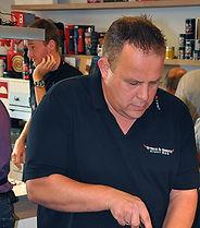 Grillmeister und Mitglied der Napoleon Grill Force Markus Lang