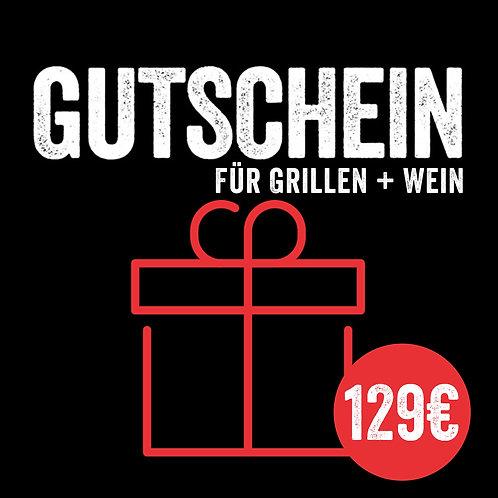 Kursgutschein: Grillen & Wein in Perfektion (mit Sofort-Versand per E-Mail)