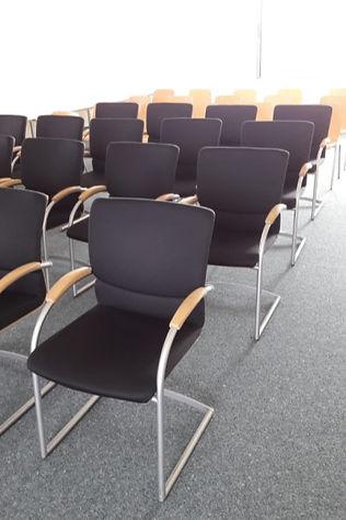 Aufnahme eines gemieteten Konferenzraumes des Grillforum VALENTIN für ein betriebliches Seminar