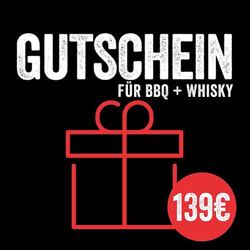 Kursgutschein: BBQ & Whisky (mit Sofort-Versand per E-Mail)