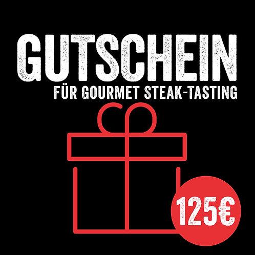 Kursgutschein: Gourmet Steak-Tasting (mit Sofort-Versand per E-Mail)