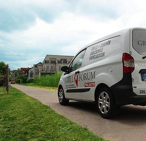 Grillforum VALENTIN Montage- und Lieferwagen