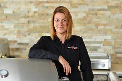 Portraitaufnahme von Tanja Schalk, Leiterin der Grill- und Kochschule