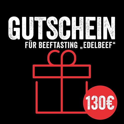 """Kursgutschein: Beeftasting """"Edelbeef"""" (mit Sofort-Versand per E-Mail)"""
