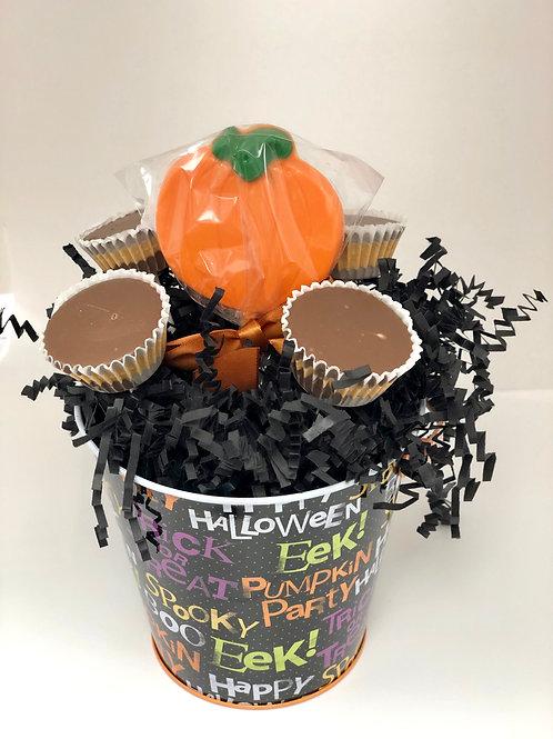Peanut Butter Cup& Pumpkin Boo Bucket