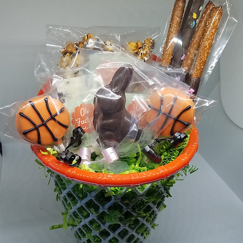 Basketball Easter Basket
