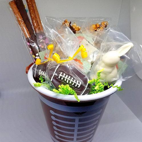 Football Themed Basket