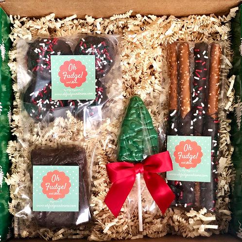 Holiday Gift Box/Christmas Gift Box/Chocolates Gift