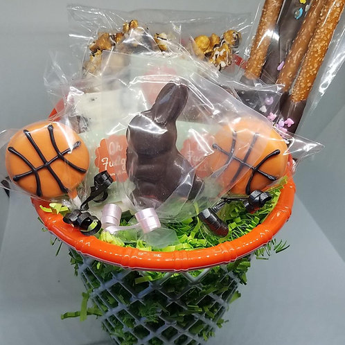 Basketball Easter Basket