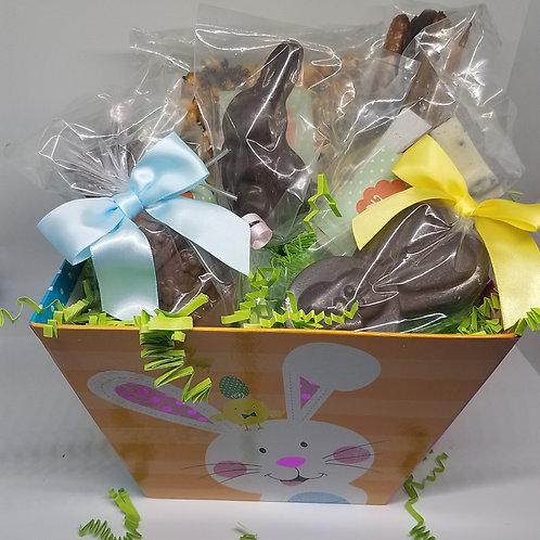 Large Prefilled Easter Basket