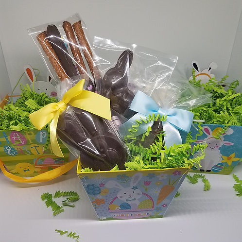 Small Prefilled Easter Basket