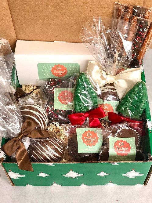 Deluxe Holiday Gift Box/Christmas Gift Box/Chocolates Gift