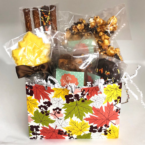 Thanksgiving Chocolates Box/Fall Gift Box/Thanksgiving Treat Box/Thanksgiving Gi