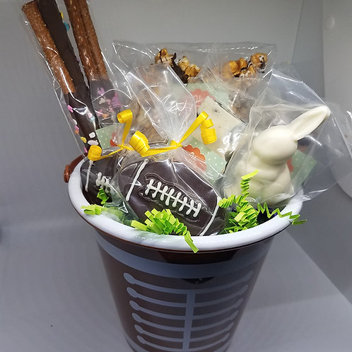 Football Easter Basket