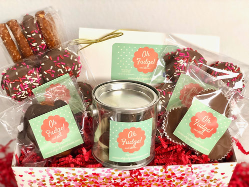 Valentine's Deluxe Chocolate Gift Box
