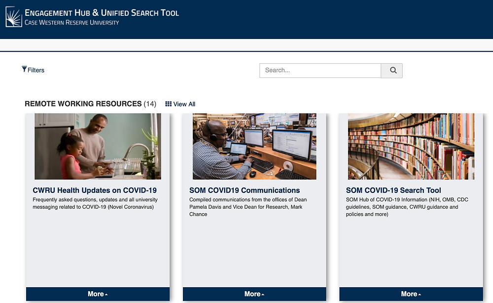 Case Western SOM Engagement Hub & Unified Research Tool photo