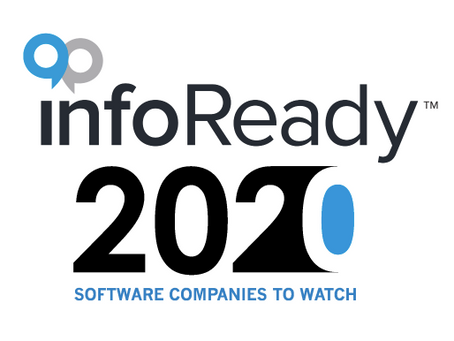 InfoReady Corporation Receives The Startup Weekly's 2020 Software Companies to Watch Award