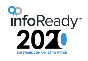 InfoReady 2020 Software Company to Watch logo