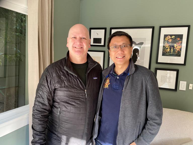 Benjamin Hong and Greg Greely Airbnb San