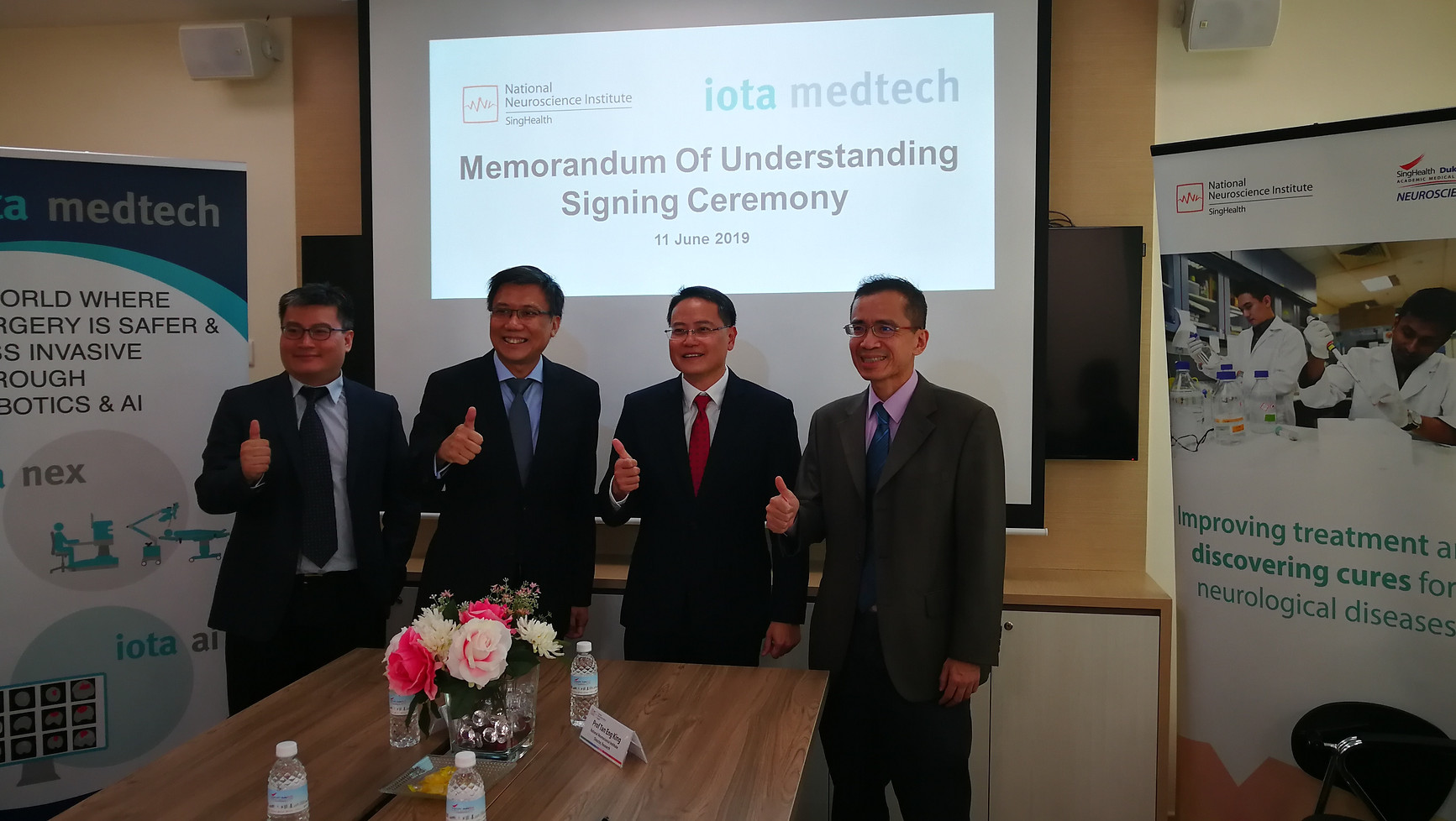 iota medtech NNI mou signing