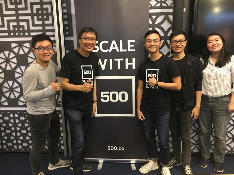 Benjamin Hong iota medtech team 500 Star