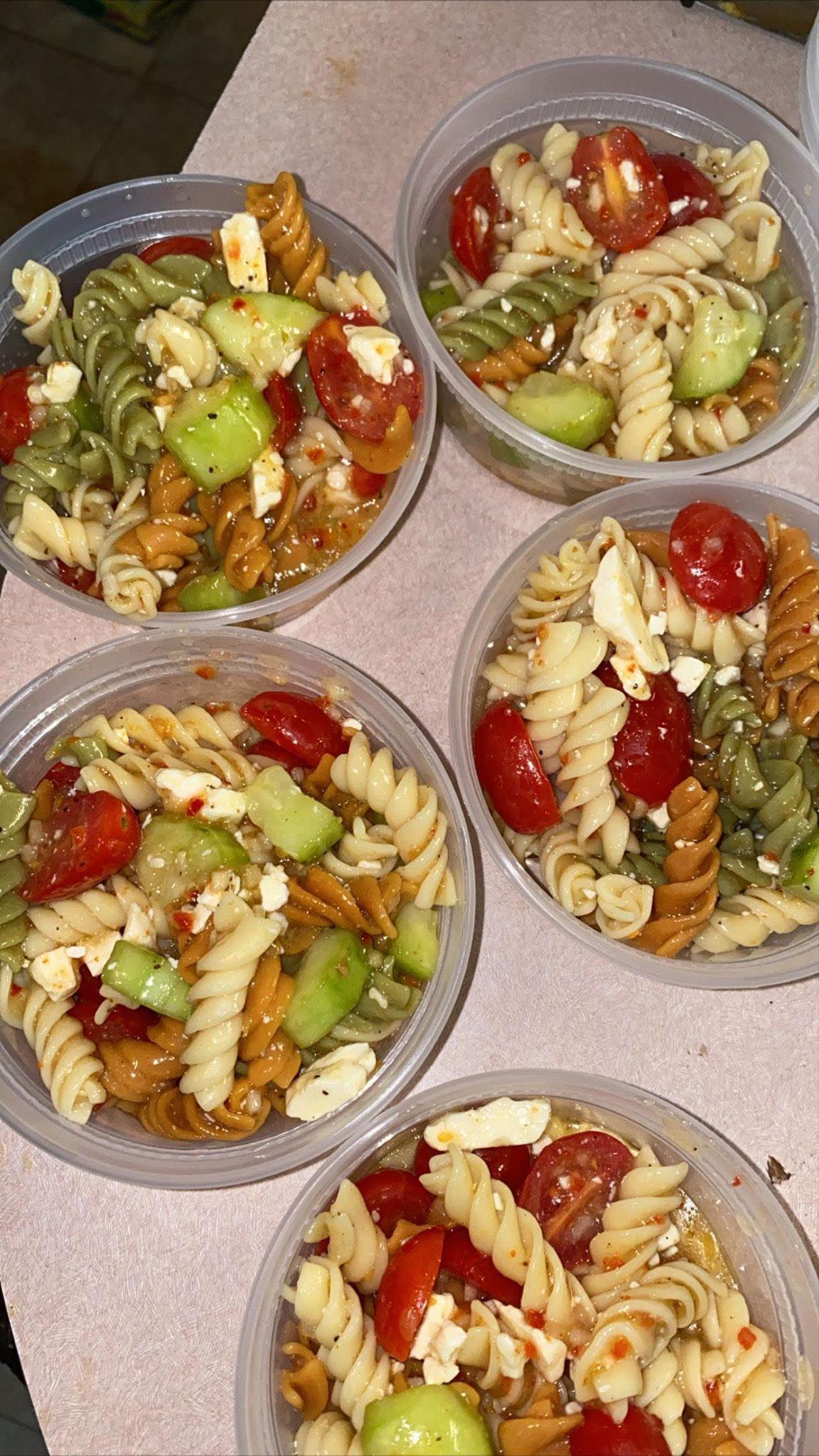 Pasta Salad Bowls
