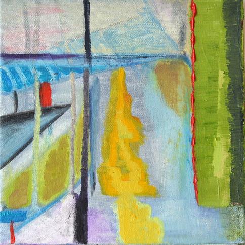 Studley window - yellow path