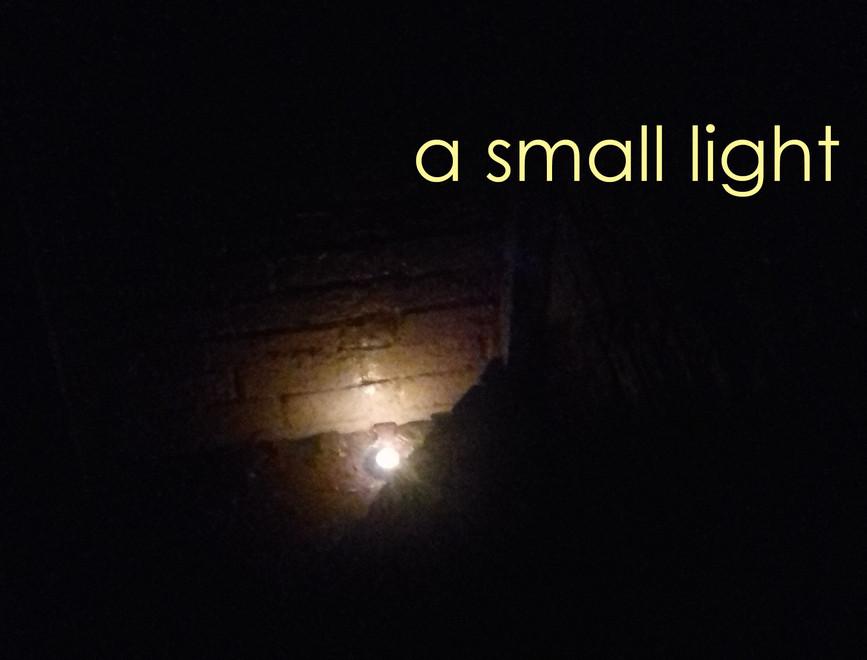 a small light