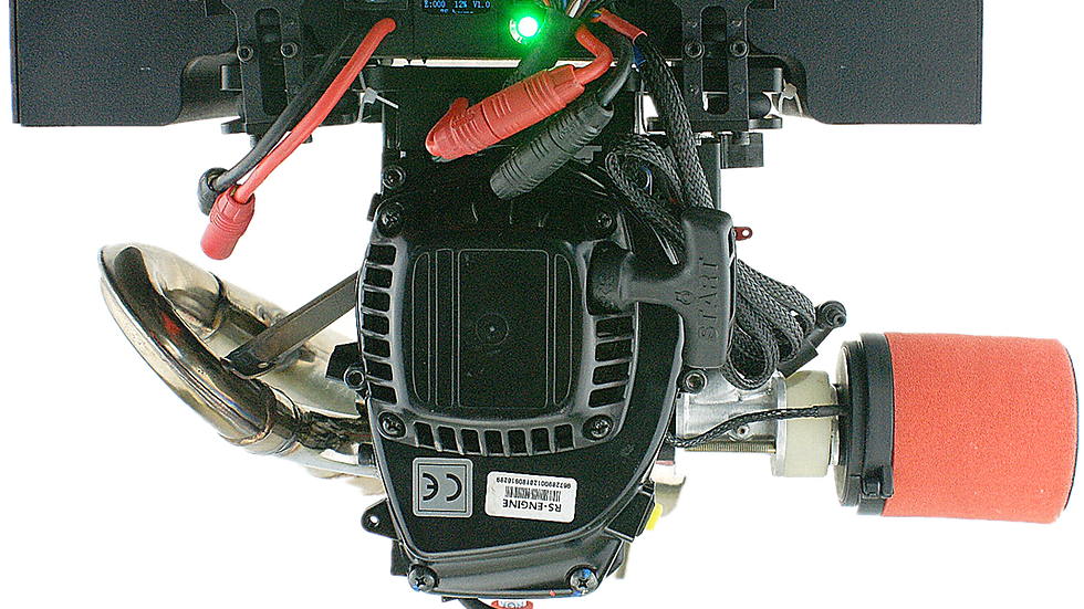 H2 EFI Hybrid Engine