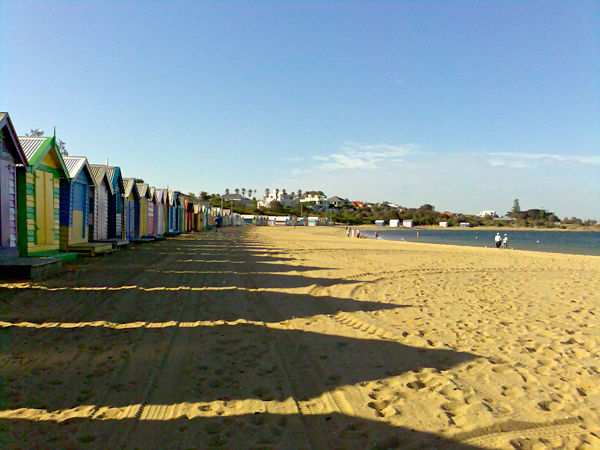 Bathing Boxes & beach