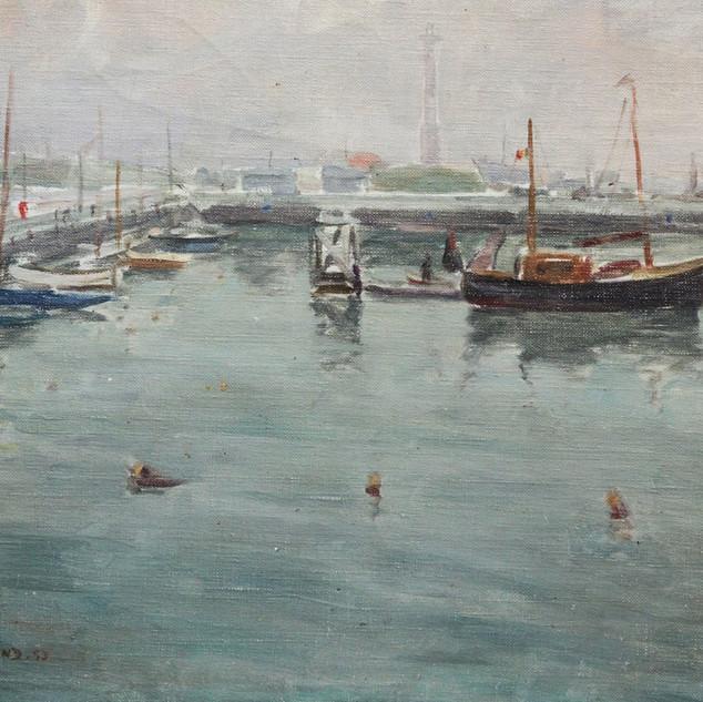 Le port d'Ostende (1953)