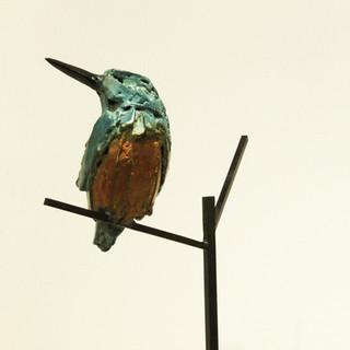 Bronze - Martin pêcheur