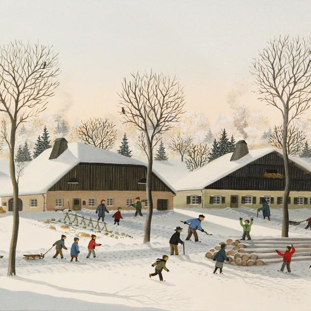 35x23 Jeux d'hiver