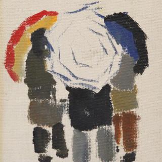 Causette sous les parapluies