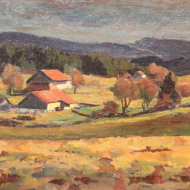 Paysage traditionnel du Haut-Doubs