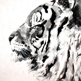 Cliff noir et blanc