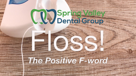 "Why does your dentist continue to use the ""F-word""?"
