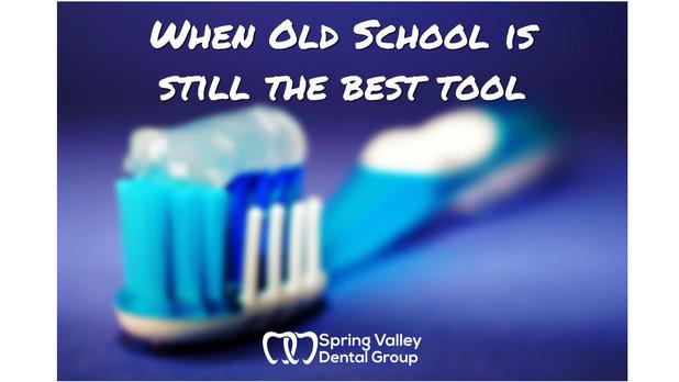 When old school is still the best tool