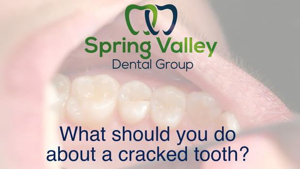 What should you do about a cracked tooth?