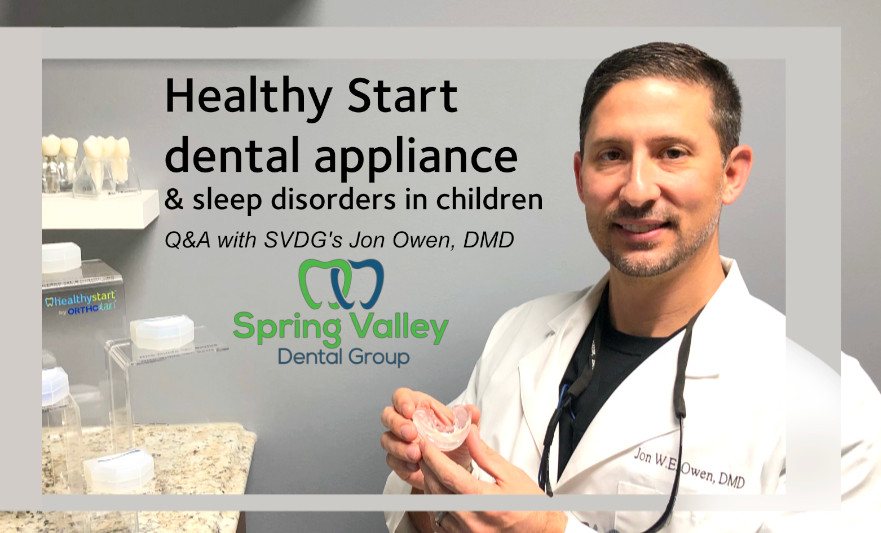 HealthyStart dental appliance and sleep disorders in children - Can face development really lead to life long breathing issues?