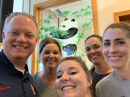 Dentist Lance Martin and his staff held a meeting at China King in Shiloh IL